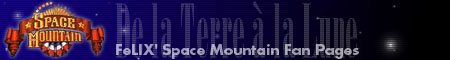 Logo FeLIX' Space Mountain Fan Pages